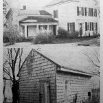 Dr. Owen's home (top), built in 1856, his first home (bottom) shown in 1938