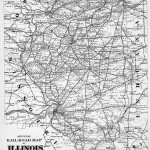 1876 Railroad Map