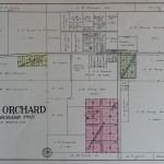 1908 Crab Orchard Plat Map