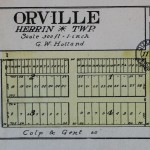 1908 Orville Plat Map