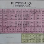 1908 Pittsburg Plat Map
