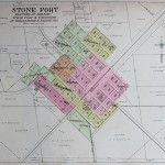 1908 Stonefort Bolton Plat Map