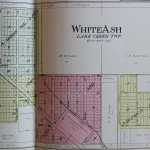 1908 Whiteash Plat Map