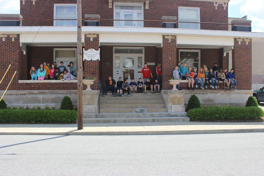 Jefferson School Students May 5, 2014