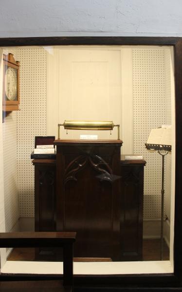 Warder Street Baptist Church Pulpit Display