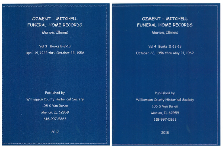 Ozment Mitchell Funeral Home Records In Print Williamson County